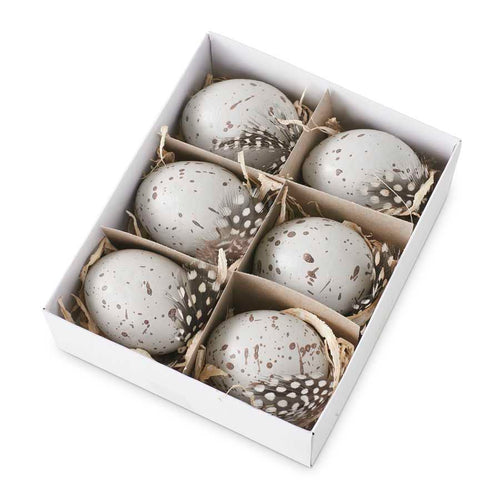 Speckled Grey Eggs (6)