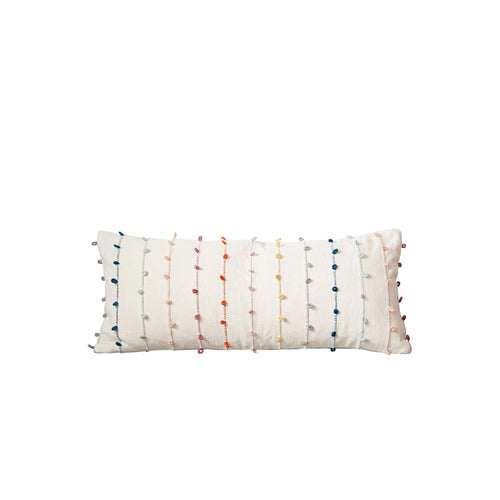Multicolored Pillow