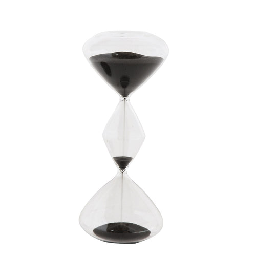 Hourglass with Black Sand (Small)