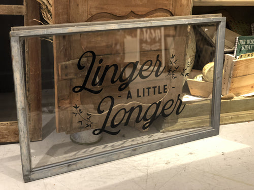 "Window Black ""Linger a Little Longer"""