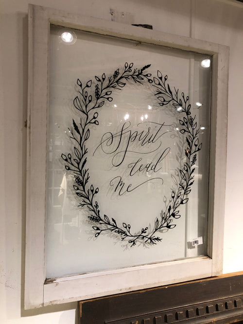 "Window Black ""Spirit Lead Me"""