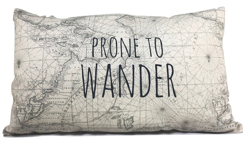 Pillow - Prone to Wander