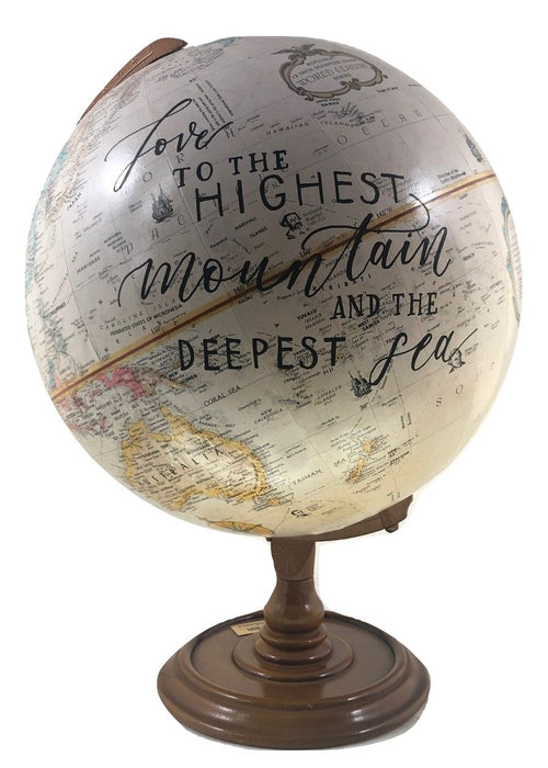 "Globe - Vintage XL ""Love to the Highest Mountain..."""
