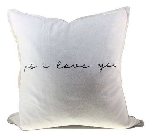 "Pillow - ""p.s. I love you"""