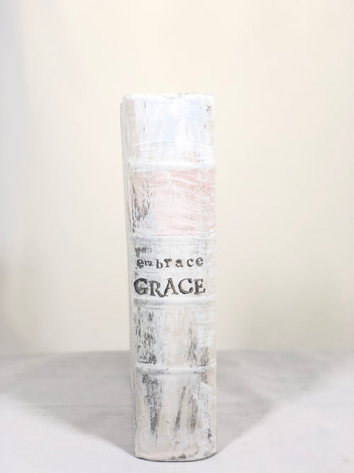 "Painted Book - ""Embrace Grace"" (Vertical)"