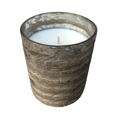 Jasper Candle, Mercury Hurricane Candle (small)