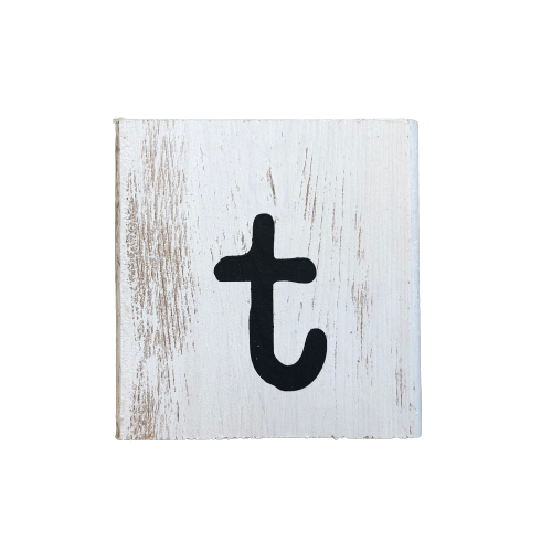 Wood Block Letter (small)