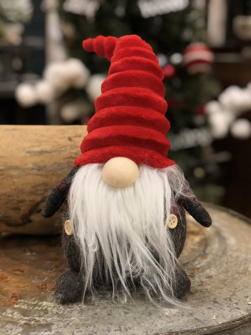 Gnome, Red Accordion Hat