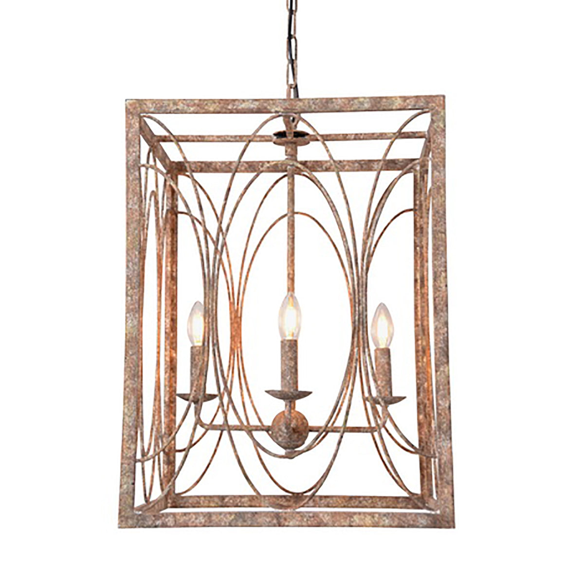 Square Chandelier