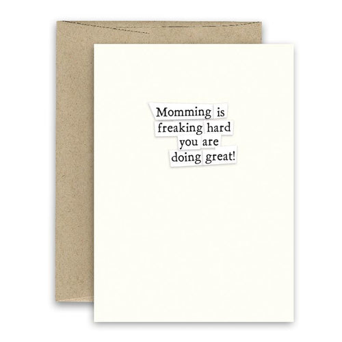 Simply Put Greeting Card - Momming
