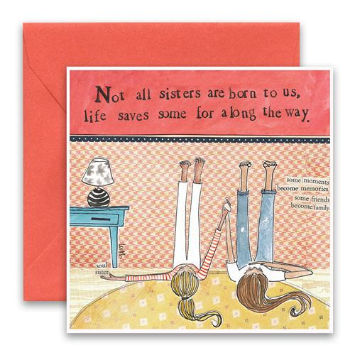 Greeting Card - Soul Sisters
