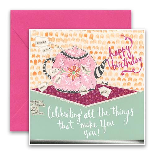Greeting Card - Celebrating You