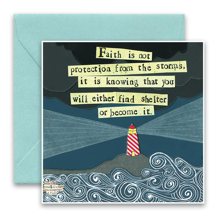 Greeting Card - Find Shelter