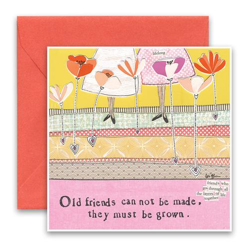 Greeting Card - Old Friends