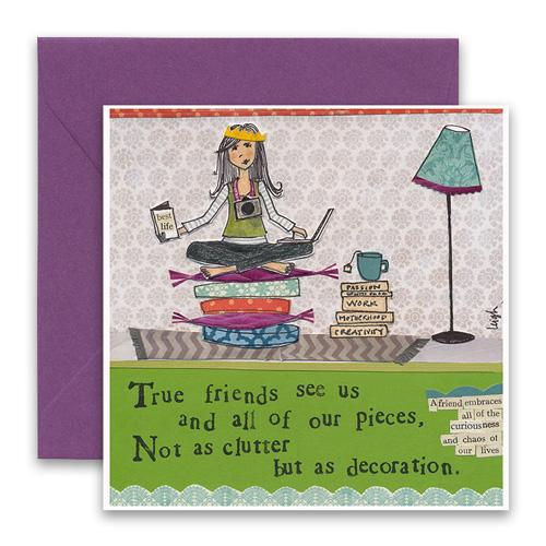 Greeting Card - Clutter
