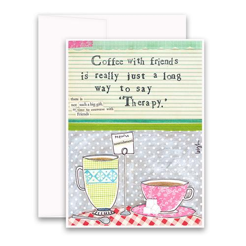 Greeting Card - Coffee