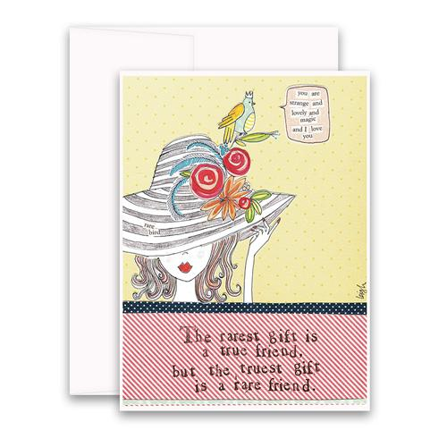 Greeting Card - Rare Friend