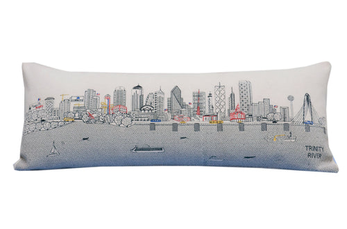 Dallas Queen Day pillow