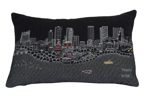 Dallas Fort Worth King Night Pillow