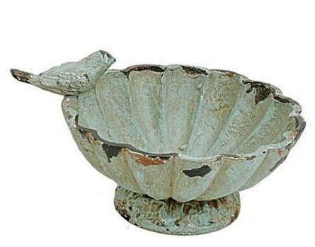 Pewter Bowl with Bird