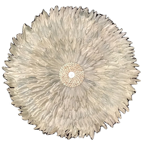 Feather/Shell Wall Hanging (Large)