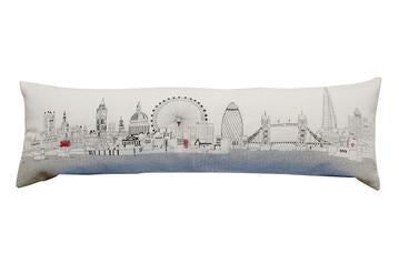 London Queen Day Pillow