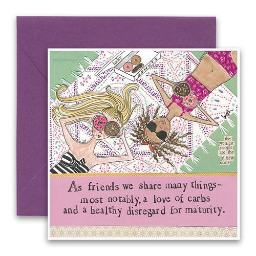 Greeting Card - Love of Carbs