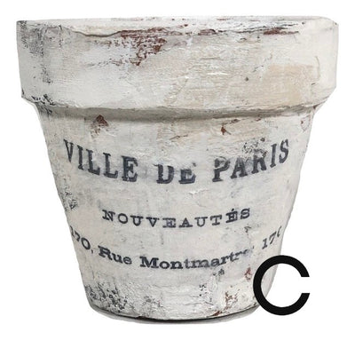 Terra Cotta French Pot (Small)