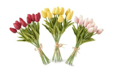 Tulip Bouquets, 12 stem, Various Color Options Available