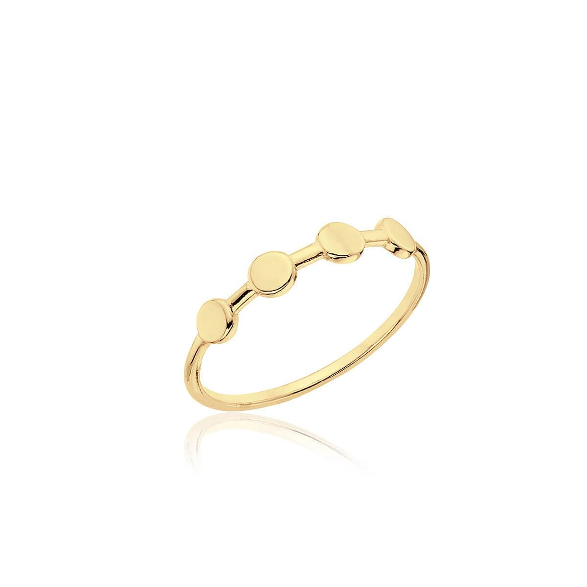 Anillo CROWN GOLD - Olivia Olash