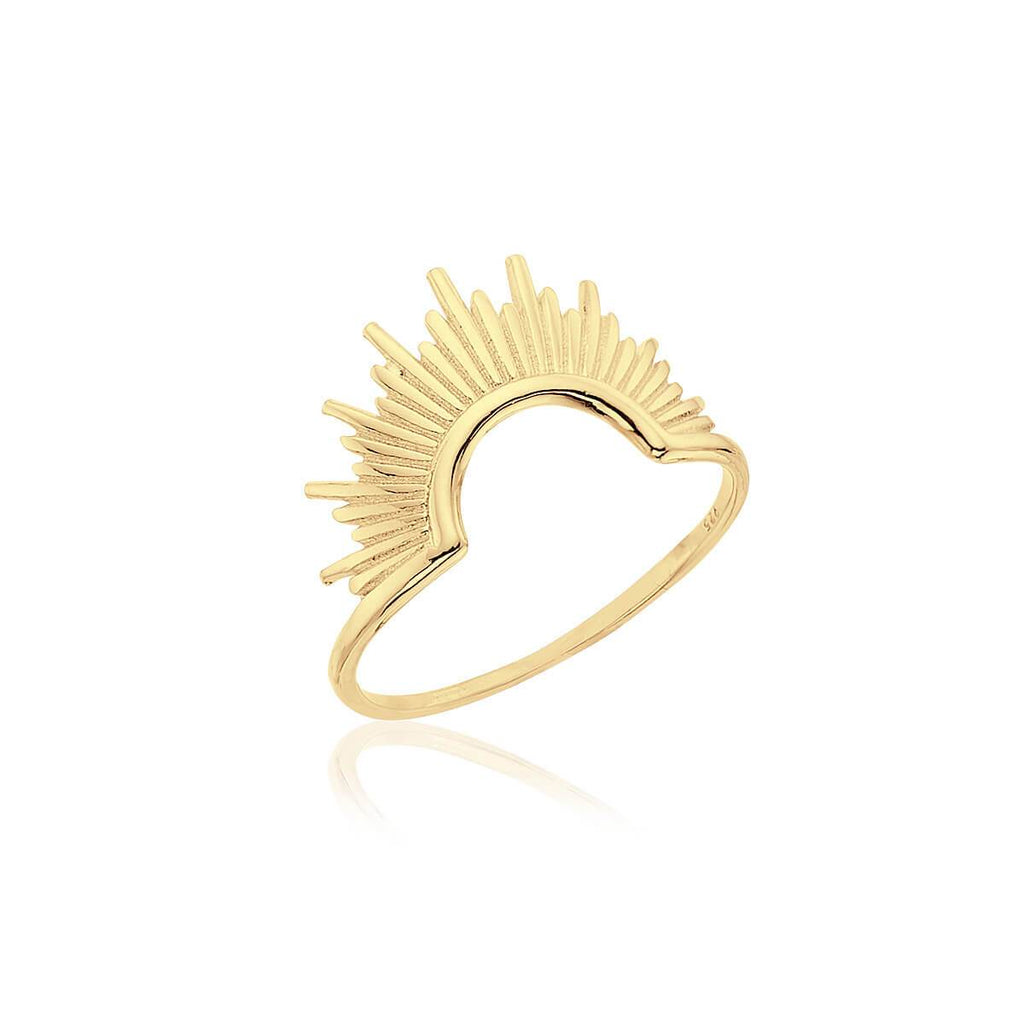 Anillo GRAND AZTLAN GOLD - Olivia Olash