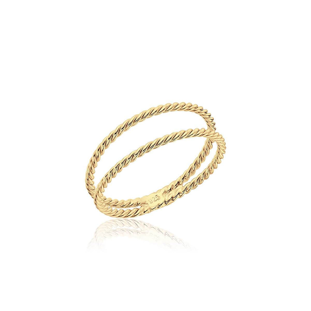 Anillo INFINITY GOLD - Olivia Olash