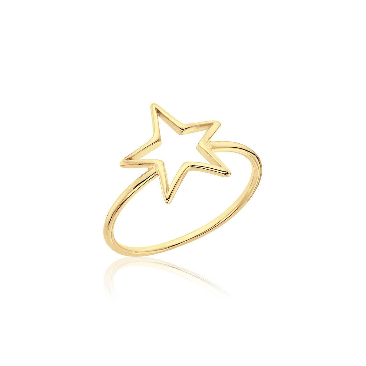Anillo STAR GOLD - Olivia Olash