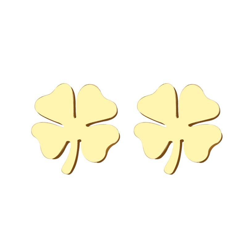 Pendientes GOOD LUCK Gold - Olivia Olash