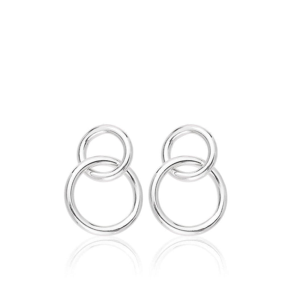 Pendientes MINI CHOICES 2 RINGS - Olivia Olash