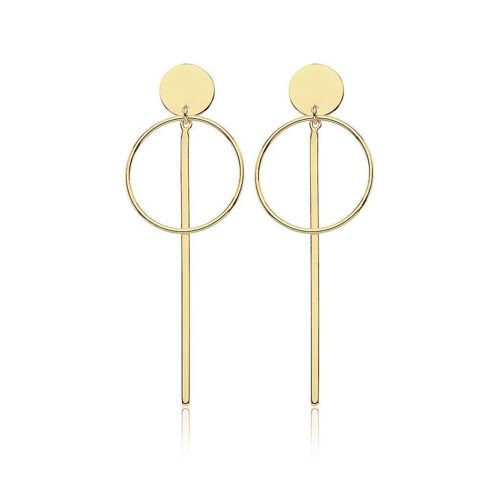 Pendientes SALT LAKE GOLD - Olivia Olash