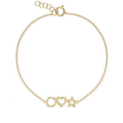 Pulsera ORION GOLD - Olivia Olash