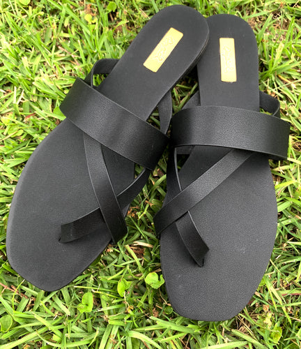 Cross My Heart Sandals
