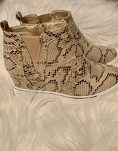Load image into Gallery viewer, You Are The Future Wedge Sneakers, Snakeskin
