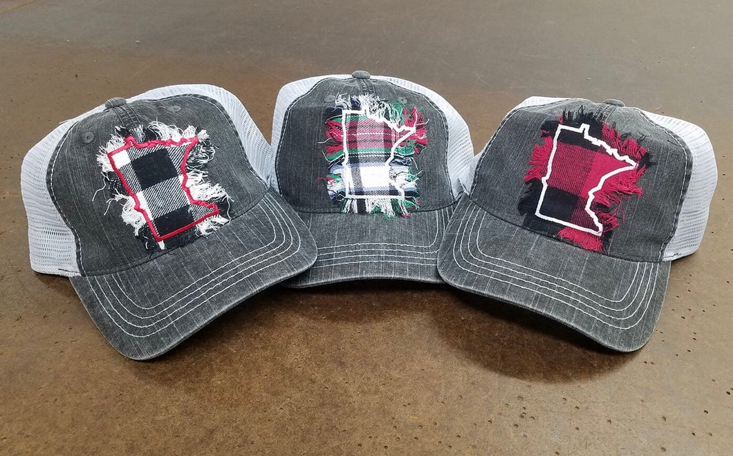 MN Plaid Hat