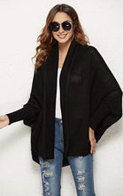 Load image into Gallery viewer, Batwing Cardigan - Multiple Colors