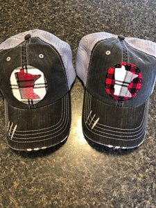 Exclusive MN Plaid Hat