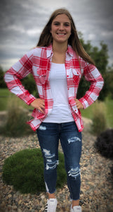 Red/White Flannel