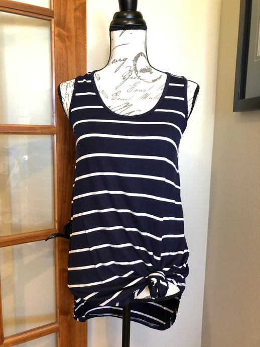 Swing Tank - Navy Stripe
