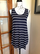 Load image into Gallery viewer, Swing Tank - Navy Stripe