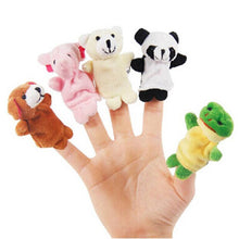 Load image into Gallery viewer, 10PCS Cute Cartoon Biological Animal Finger Puppet Plush Toys