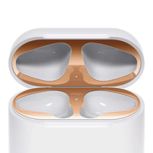 Load image into Gallery viewer, Metal Dust Guard Protective Case Shell Skin Dustproof Stickers For Apple Airpods