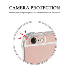 Load image into Gallery viewer, Clear Shockproof Protective Phone Case for All IPhone, Samsung, LG Models