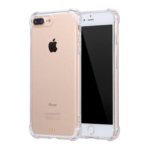 Clear Shockproof Protective Phone Case for All IPhone, Samsung, LG Models