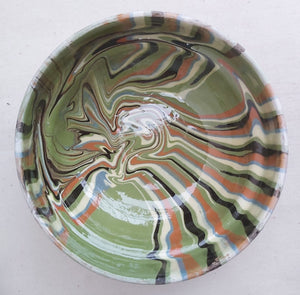 Green Marble Side Dish